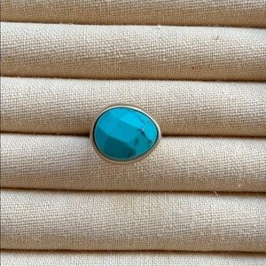 Chloe + Isabel Minaret Faceted Turquoise Ring